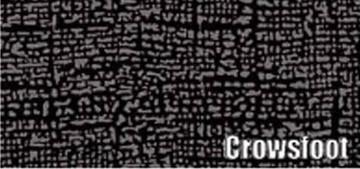 1960-61 PLYMOUTH 2 DOOR HARDTOP RUBBER TRUNK MAT, CROWSFOOT PATTERN
