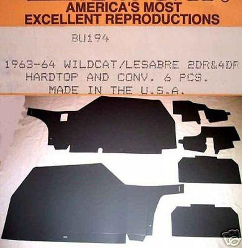 Package Tray for 1967-1968 Buick Wildcat LeSabre 2-Door Hardtop Regular Black