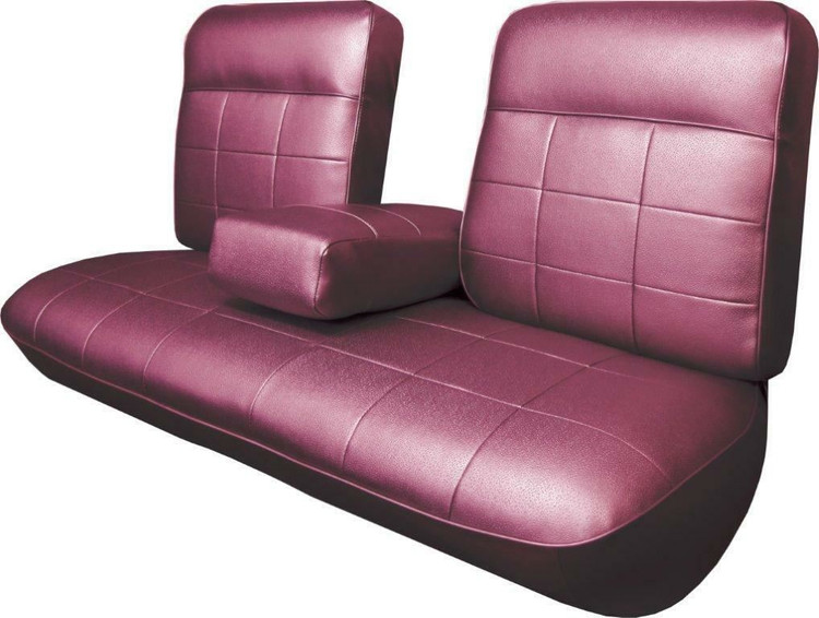 1963 Cadillac Deville Standard Front Bench Seat Cover With Armrest 3 Colors