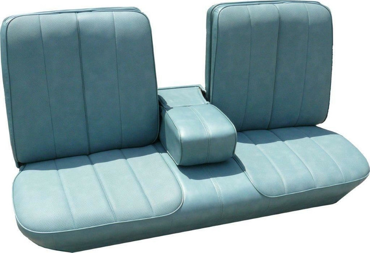 1963 Cadillac Deville Standard Front Bench Seat Cover With