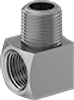 """P14116 - 1/4"""" Male 90° Elbow Adapter"""