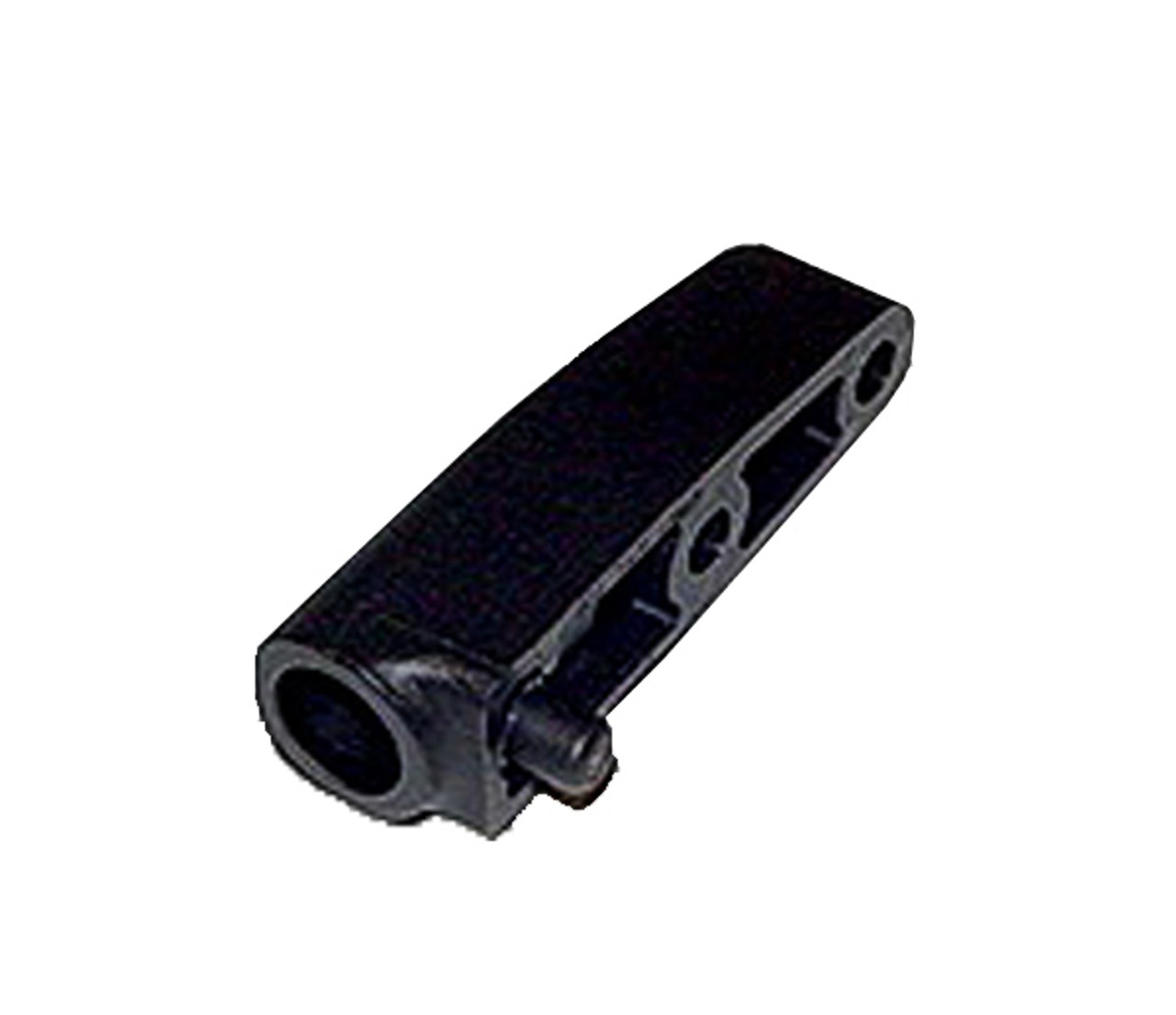D00720 - Tapered Black Plastic Door Hinge, Female Half