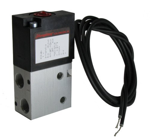 P21224 - 3 Port Humphrey Solenoid TSM-21 after SN:61076. (See notes for TSM-35.)