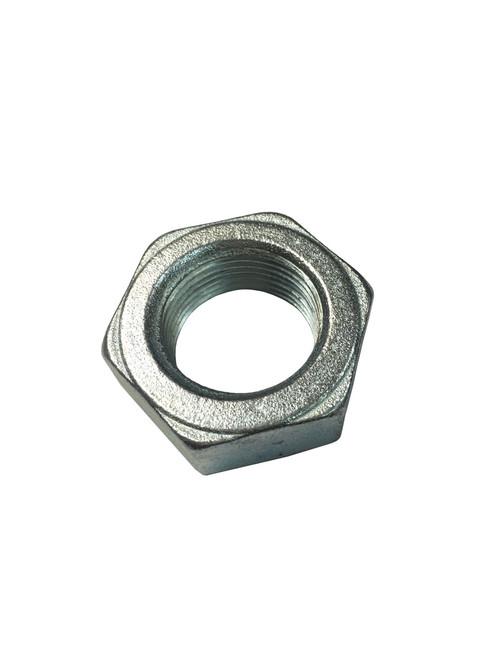 F11412 - 1-1/4-12 Jam Nut, Zinc Plated