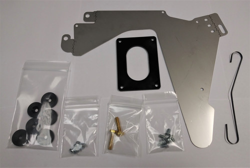 C55308.1 - Router Carriage Wear Plate w/ 6 Pucks