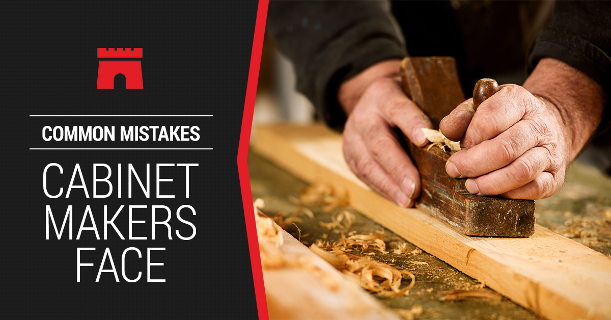 Common Mistakes Cabinet Makers Face