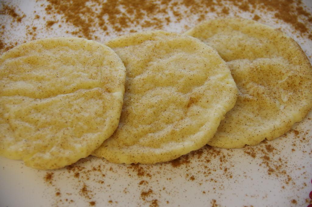 Verdes Snickerdoodle Cookies