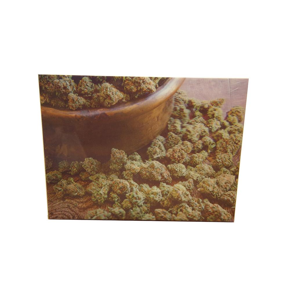 3D Cannabis Art