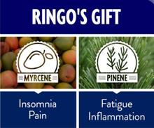 Ringo's Gift 0.5%THC, 12%CBD