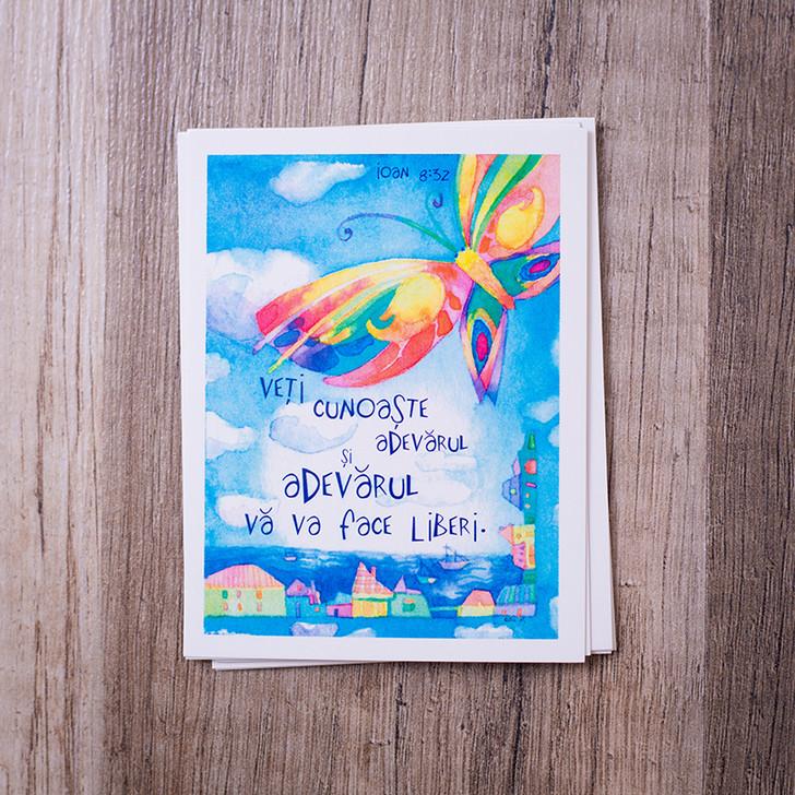 Set 8 carduri cu versete biblice