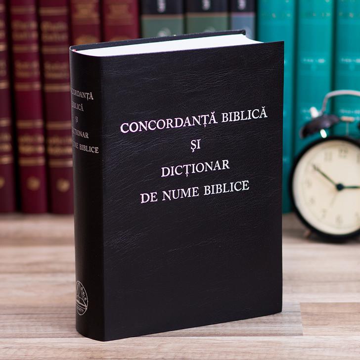 Concordanta biblica si Dictionar de nume Biblice