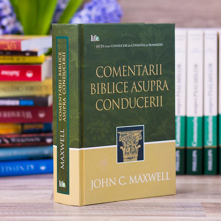 Comentarii Biblice asupra conducerii - John Maxwell