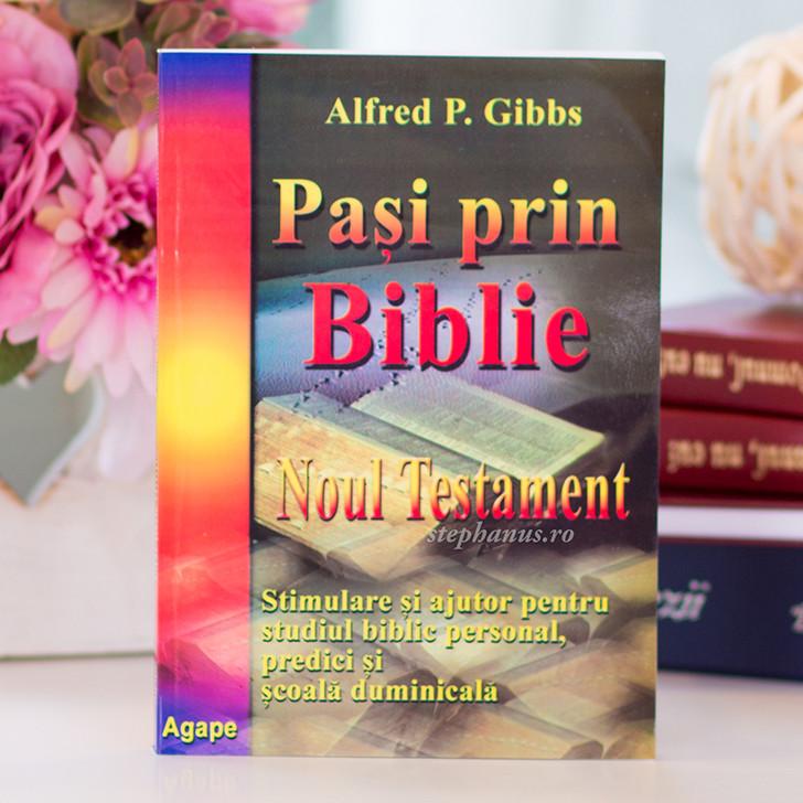 Pasi prin Biblie NT - ajutor pentru studiul biblic, predici, scoala duminicala