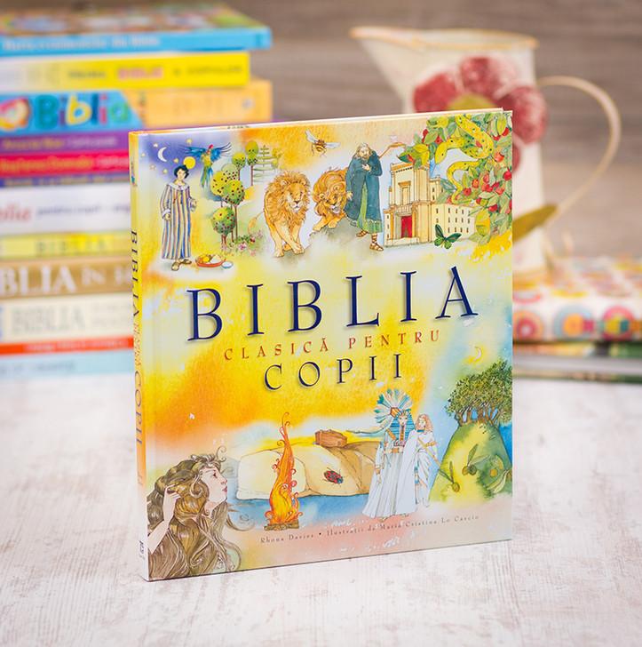 Biblia clasica pentru copii, Rhona Davies