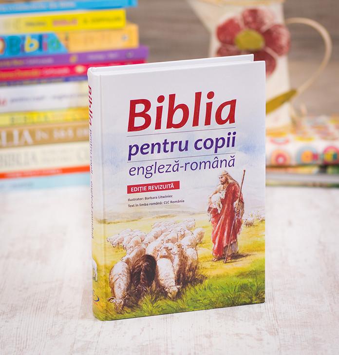 Biblia pentru copii - engleza-romana,
