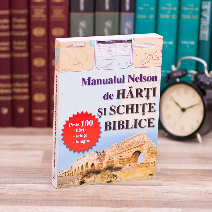 Manualul Nelson de harti si schite biblice