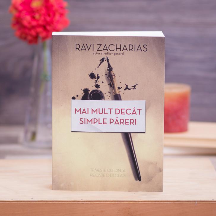 Mai mult decat simple pareri, Ravi Zacharias