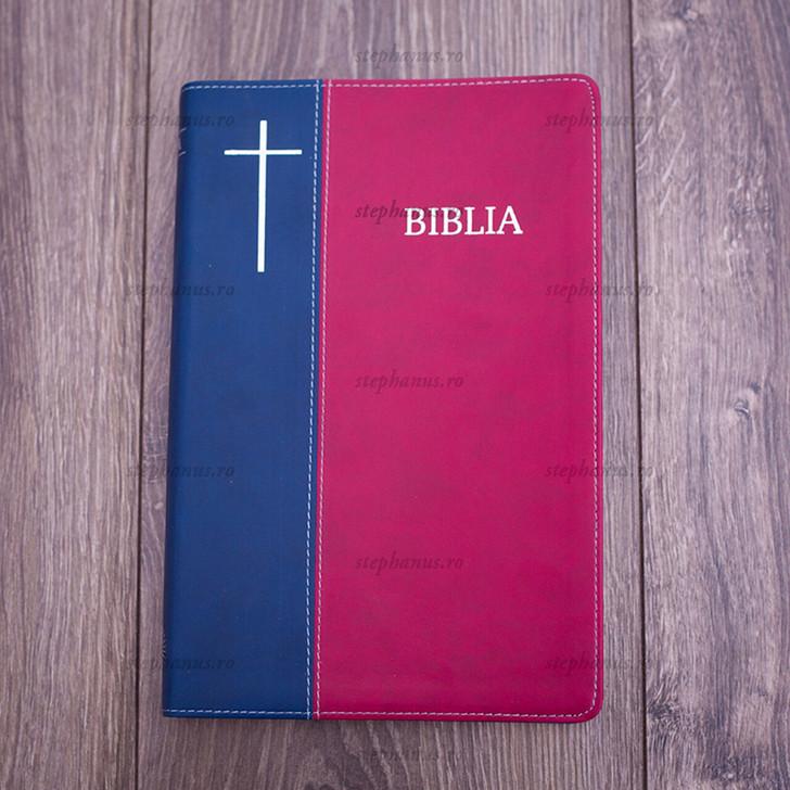 Biblia Cornilescu (rosu/albastru)
