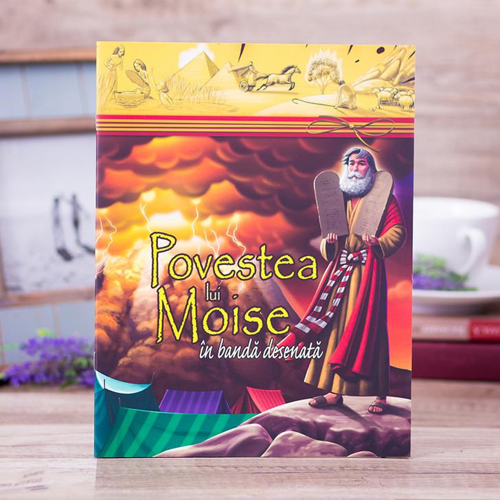 Povestea lui Moise in banda desenata