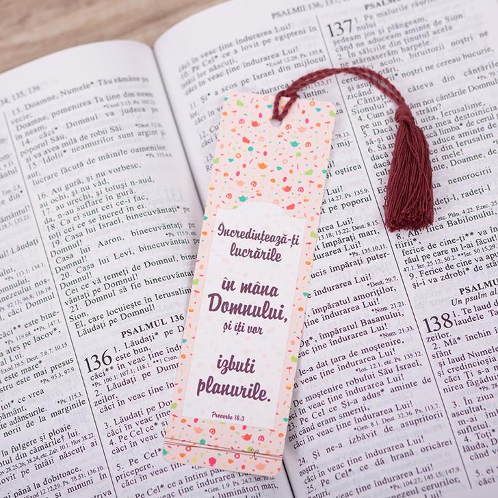 Semn snur: Incredinteaza-ti lucrarile in mana Domnului