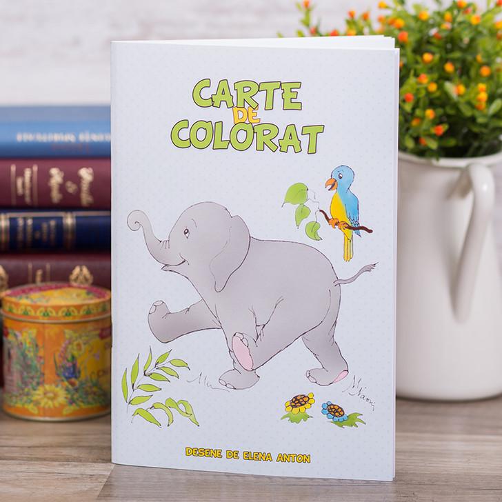 Carte de colorat cu versete biblice