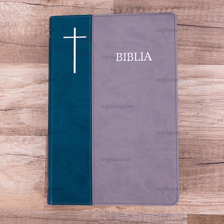 Biblia Cornilescu  (Verde/Gri)