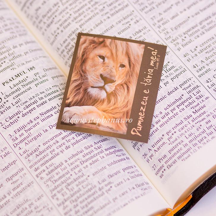 Semn carte: Dumnezeu e taria mea!
