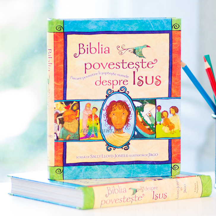 Biblia povesteste despre Isus,  Sally Lloyd-Jones