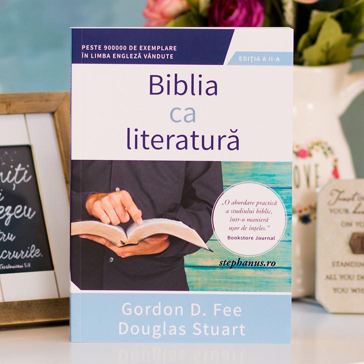 Biblia ca literatura