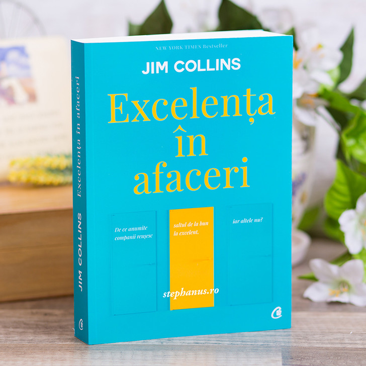 Excelenta in afaceri, Jim Collins,