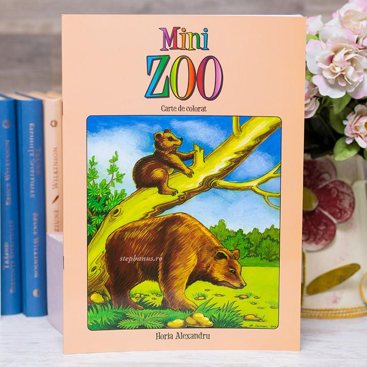 Mini Zoo - carte de colorat