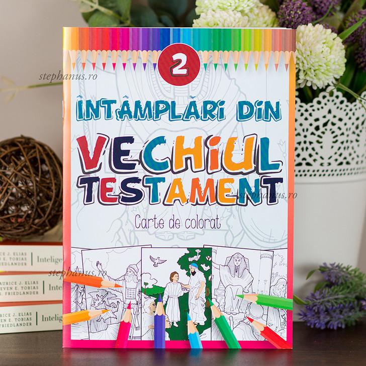 Intamplari din Vechiul Testament 2 - carte de colorat