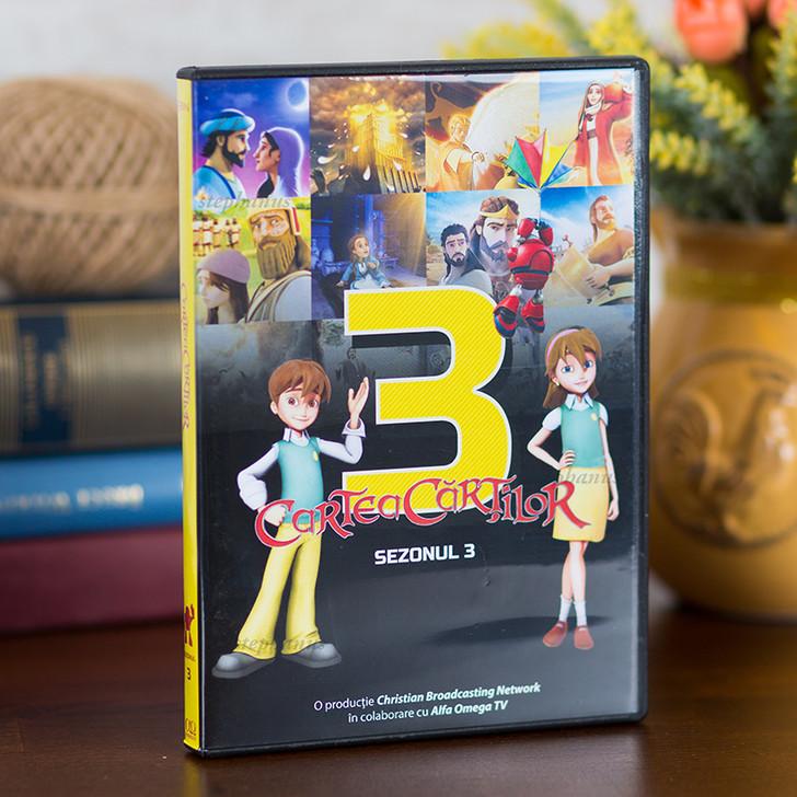 Cartea Cartilor - sezonul 3 - 4 DVD