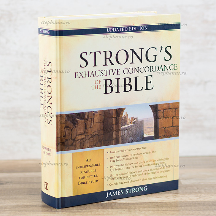 Strong's exhaustive concordance of the Bible, James Strong