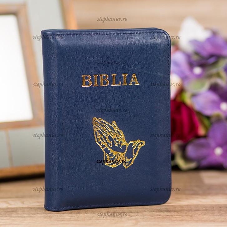 Biblia mica  (bleumarin)