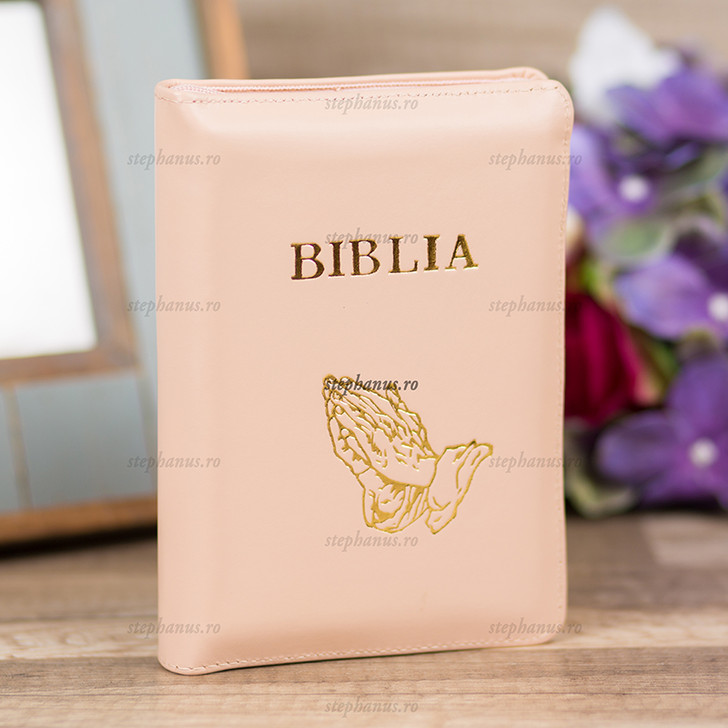 Biblia mica  (crem)