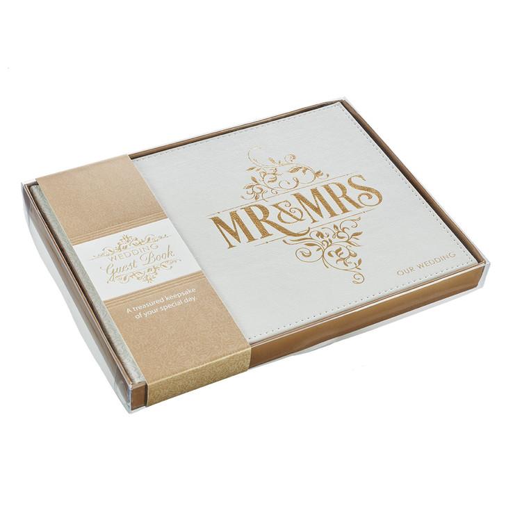 Mr & Mrs - Wedding Guest book