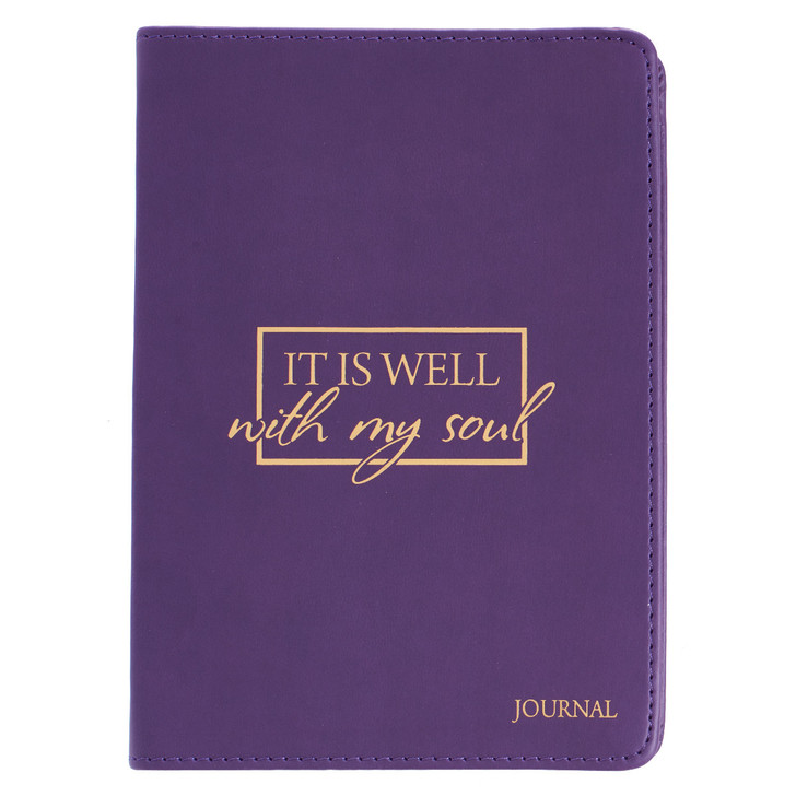 "Jurnal lux  ""It Is Well With My Soul"""