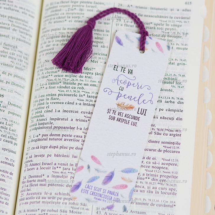 Semn snur: El te va acoperi cu penele Lui Ps. 91.4