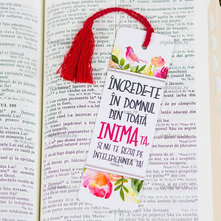 Semn snur: Increde-te in Domnul din toata inima ta