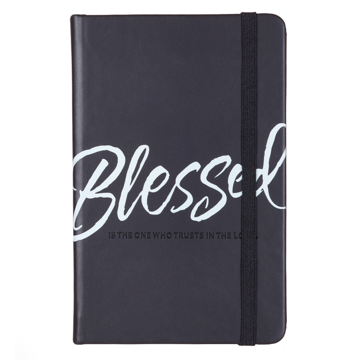 Jurnal de buzunar cu elastic - Blessed