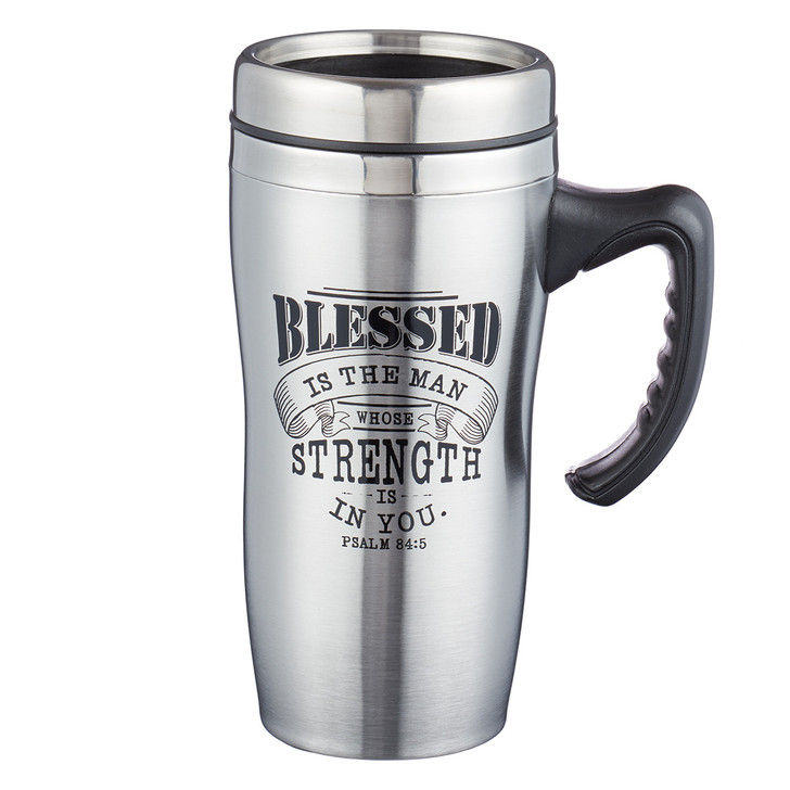 """Cana metal """"Blessed is the Man"""" Psalm 84:5"""