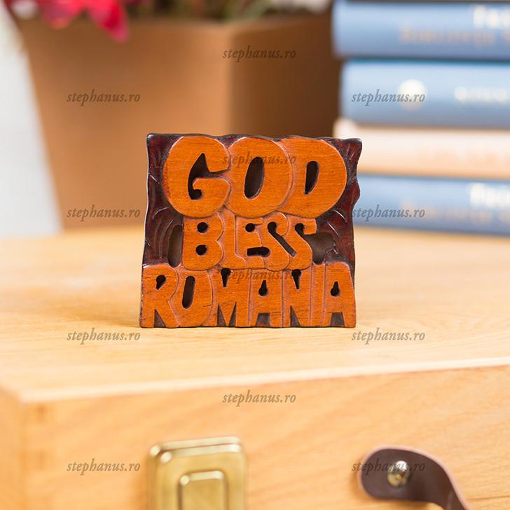 Magnet: God Bless Romania