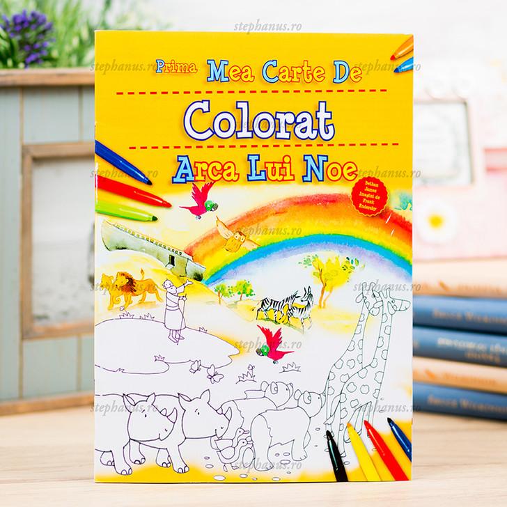 Arca lui Noe - prima mea carte de colorat