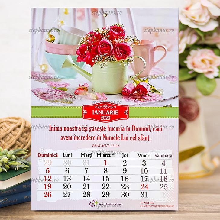 Calendar A4  FLORI - 2020
