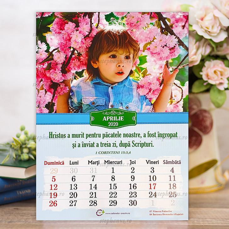 Calendar A4  COPII - 2020