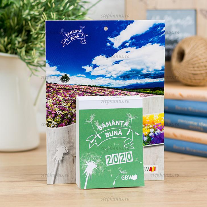 Calendar 2020 perete (file) - Samanta buna