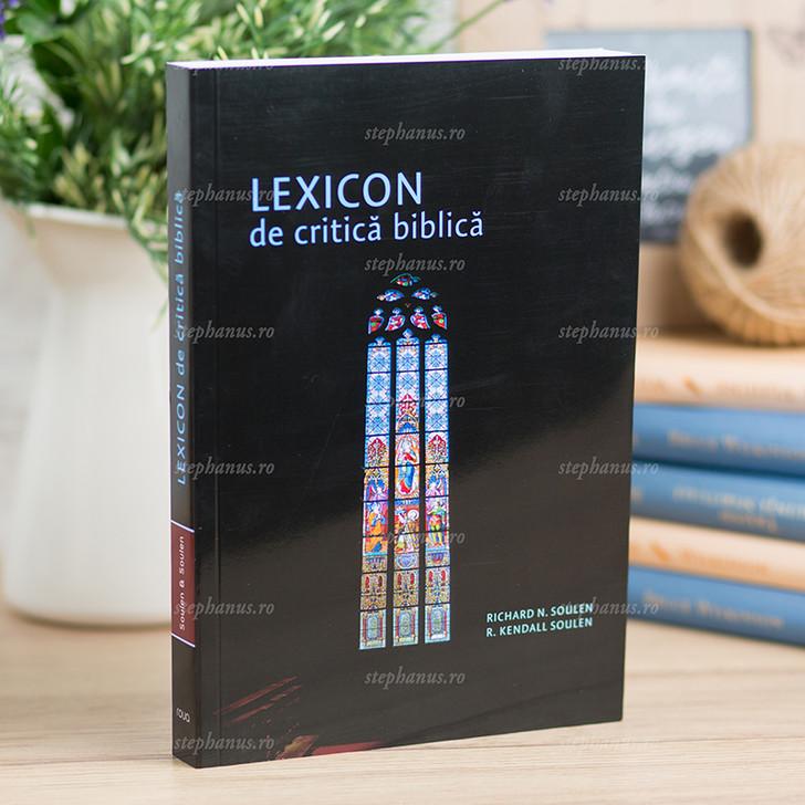 Lexicon de critica biblica