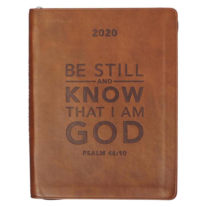 "Agenda engleza  2020 ""Be Still"" Psalm 46:10"