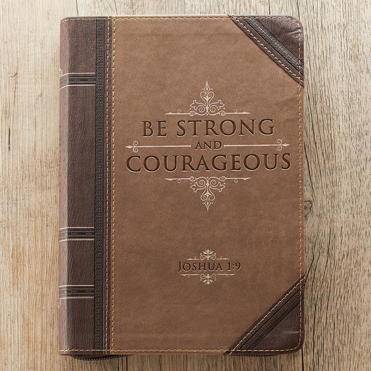 "Jurnal ""Strong and Courageous"" Joshua 1:9"